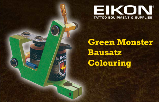Green Monster Bausatz Colouring