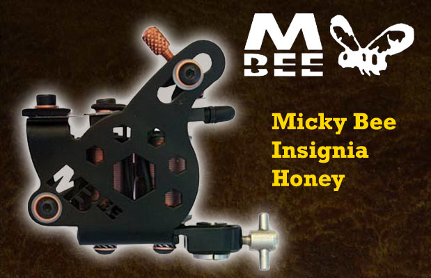 Micky Bee Insignia Honey, black frame
