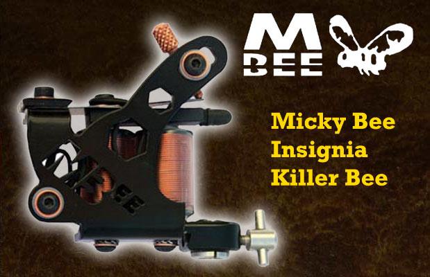 Micky Bee Insignia Killer Bee, black frame