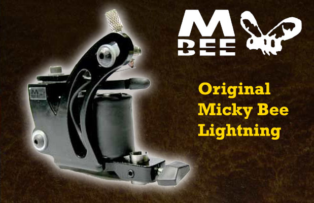 Micky Bee Original Lightning, black frame & coils
