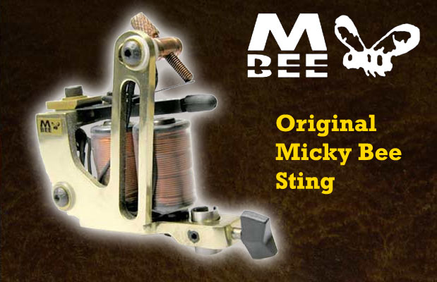 Micky Bee Original Sting, brass frame