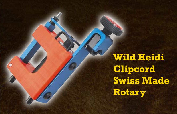 Wild Heidi Clipcord Swiss Made Rotary
