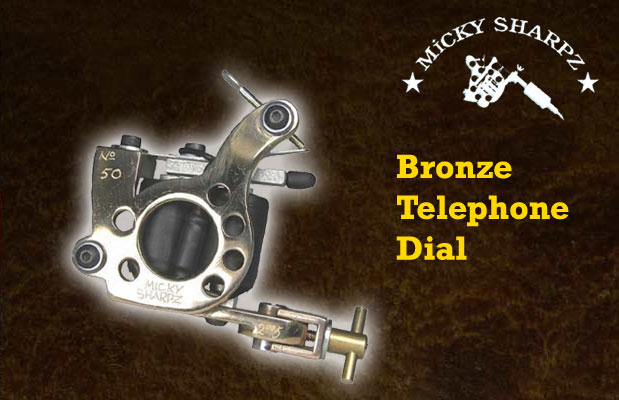 Micky Sharpz Bronze Telephone Dial