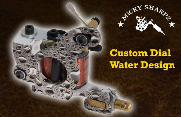 Micky Sharpz Custom Dial Water Design