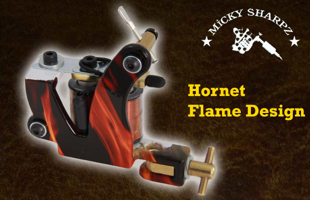 Micky Sharpz Hornet Flame Design