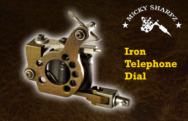 Micky Sharpz Iron Telephone Dial
