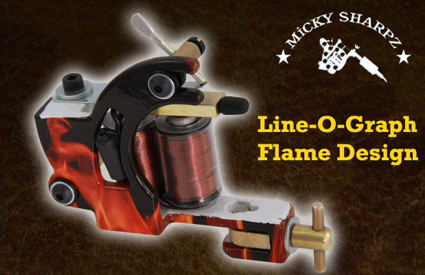 Micky Sharpz Line-O-Graph Flame Design