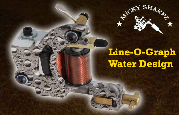 Micky Sharpz Line-O-Graph Water Design