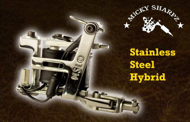 Micky Sharpz Stainless Steel Hybrid